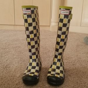 Mackenzie Childs Hunter rain boots
